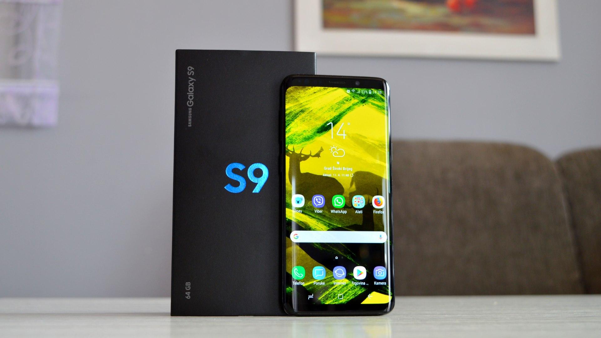 Samsung Galaxy S9 iskustvo