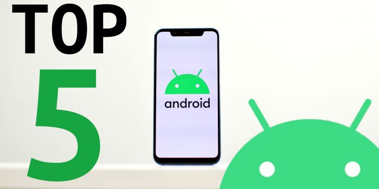 Top 5 android 10 novosti