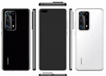 Huawei P40 renderi